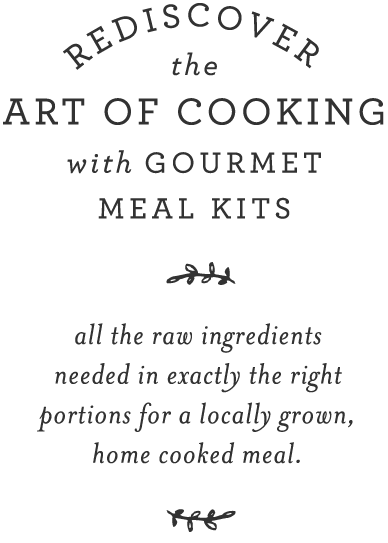 garnish and gather - the art of cooking